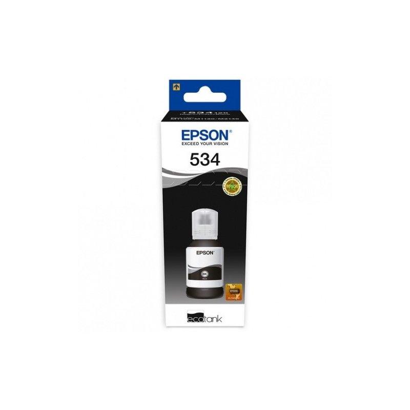 Botella de Tinta Epson Ecotank T534120-AL Negro