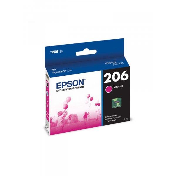 Cartucho de Tinta Epson T206320-AL Magenta
