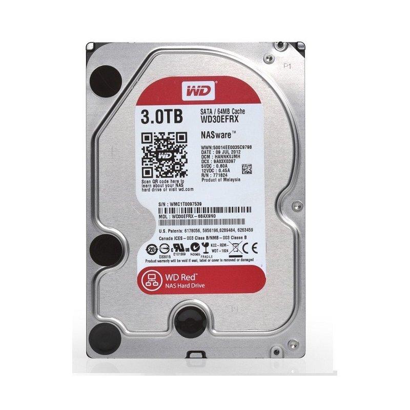 Disco Duro Wester Digital 3TB Red