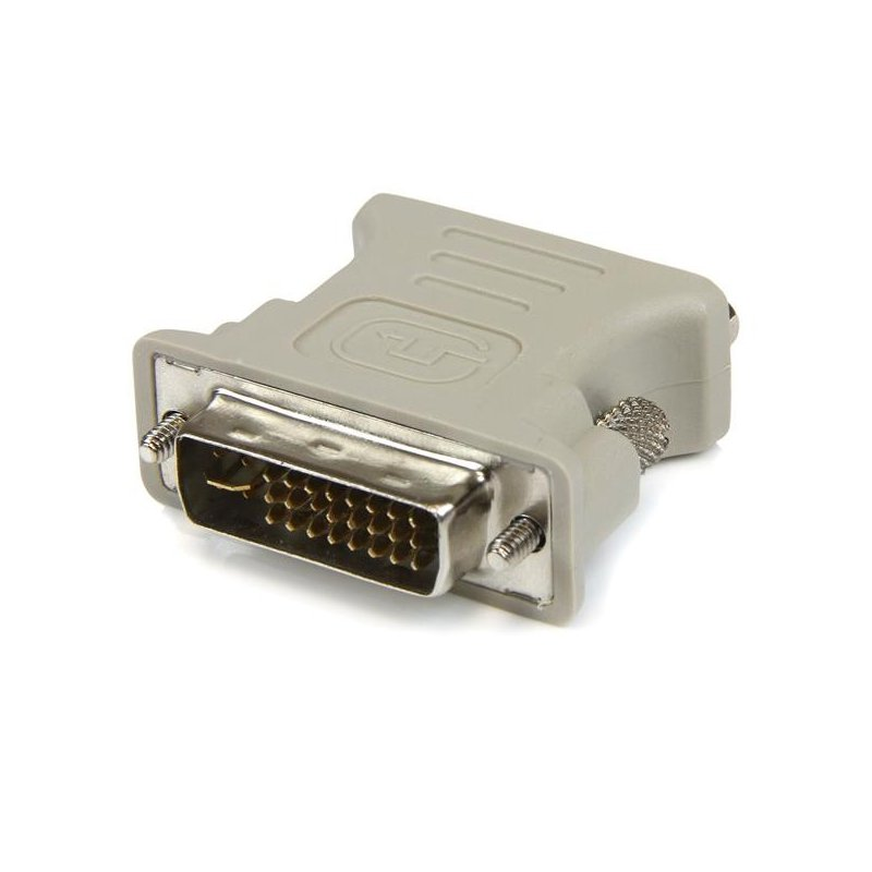 Adaptador Startech DVI-I a VGA - DVI-I Macho HD15 Hembra Blanco