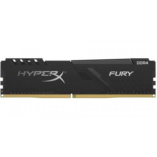Memoria Ram HyperX Fury Black DDR4 8GB 3733MHz CL19 Dimm 1.35 V
