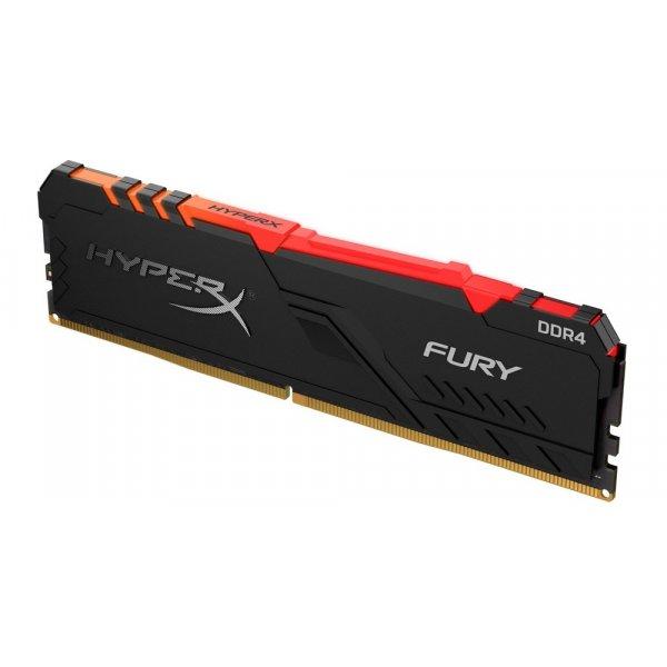 Memoria RAM HyperX Fury RGB 16GB 3200 MHz DDR4 CL16 DIMM XMP BLACK