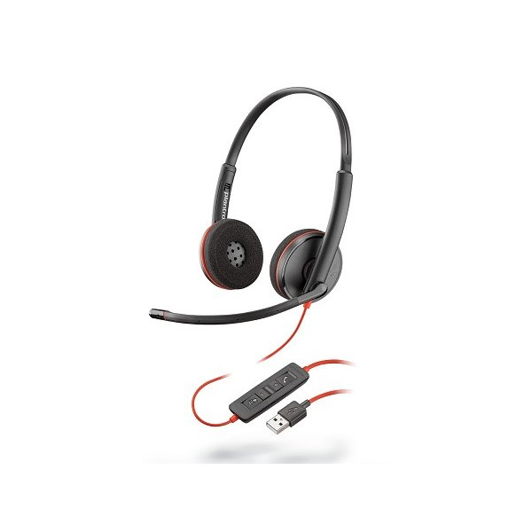Audífono Plantronics C3220, On-Ear USB Negro