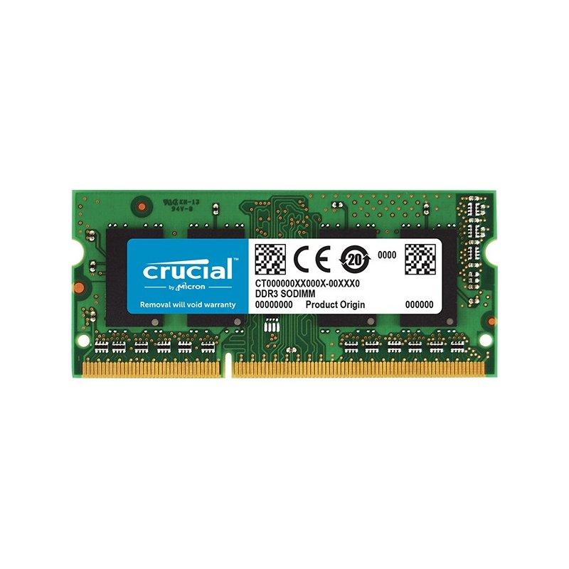 Memoria RAM Crucial 8GB (DDR3 - 1600MHz - SODIMM)