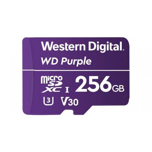 Memoria Flash Western Digital WD Purple 256 GB microSDXC