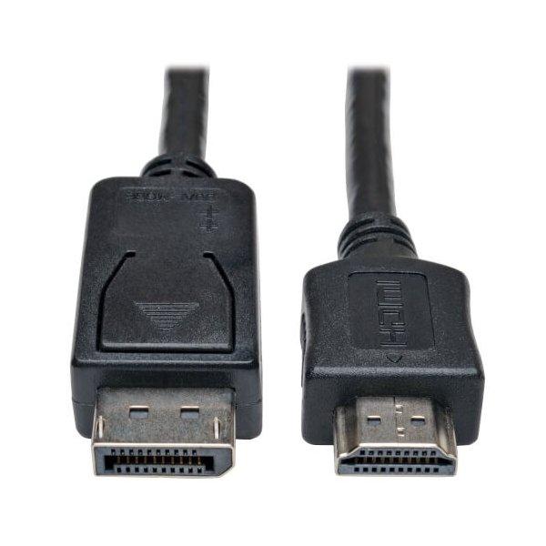 Adaptador Tripp Lite de Cable DisplayPort a HDMI (M/M), 2 mts
