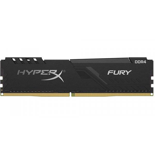 Memoria Ram HyperX Fury Black de 4GB DDR4 2666 MHz CL16 XMP