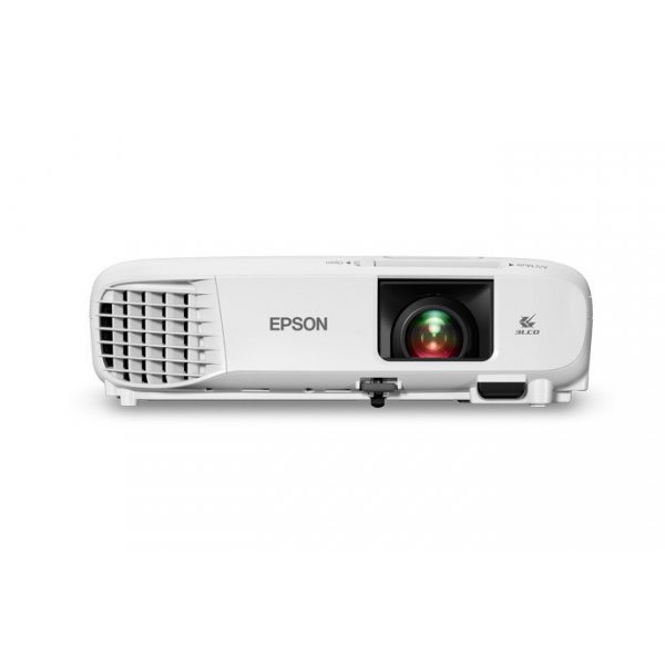 Proyector Epson PowerLite E20 3LCD Resolución de 1024 x 768 Contraste 15,000:1 y 3,4500 ANSI-Lumens