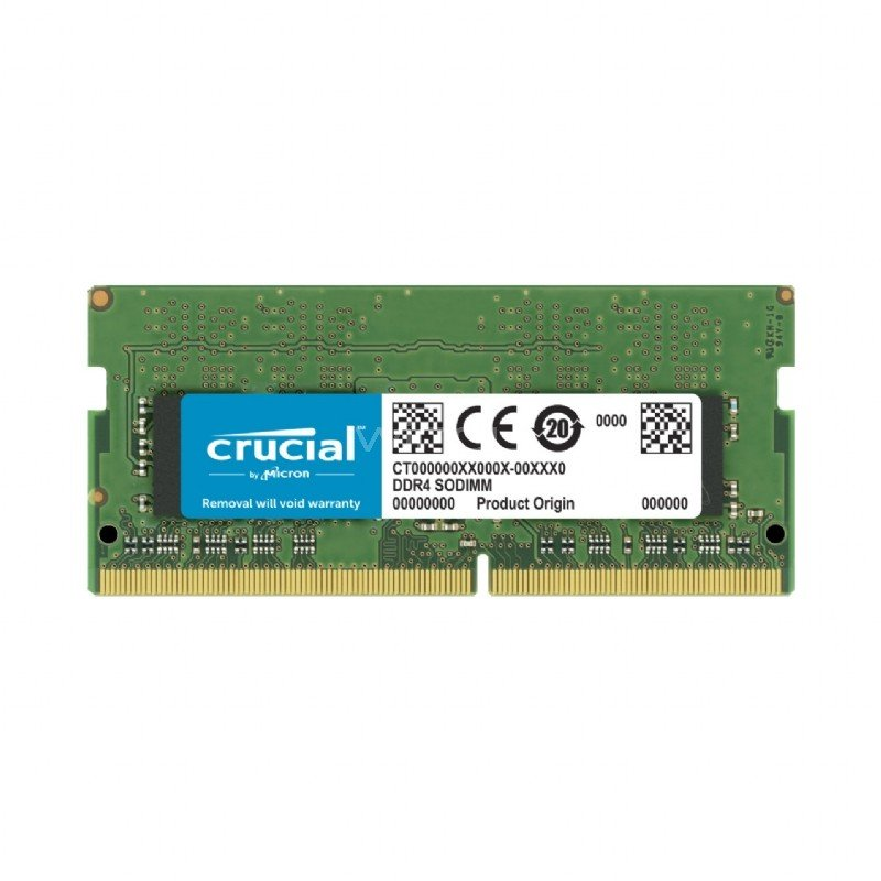 Memoria Ram Crucial para Notebook de 32GB DDR4 2666MHz SODIMM