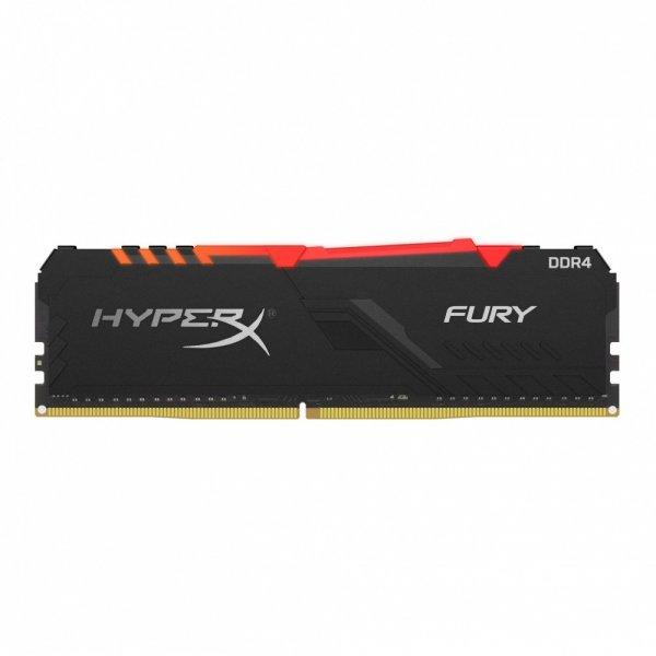Memoria Ram HyperX Fury Black DDR4 3000MHz 16GB Non-ECC CL15 XMP 1.2V