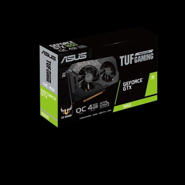 Tarjeta de Vídeo ASUS TUF Gaming NVIDIA GeForce GTX 1650 OC Edition 4GB 128 bit GDDR6 PCI Express x16 3.0