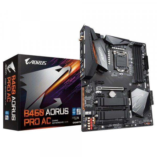 Tarjeta Madre Aorus ATX B460 PRO AC Socket1200 HDMI 128GB DDR4