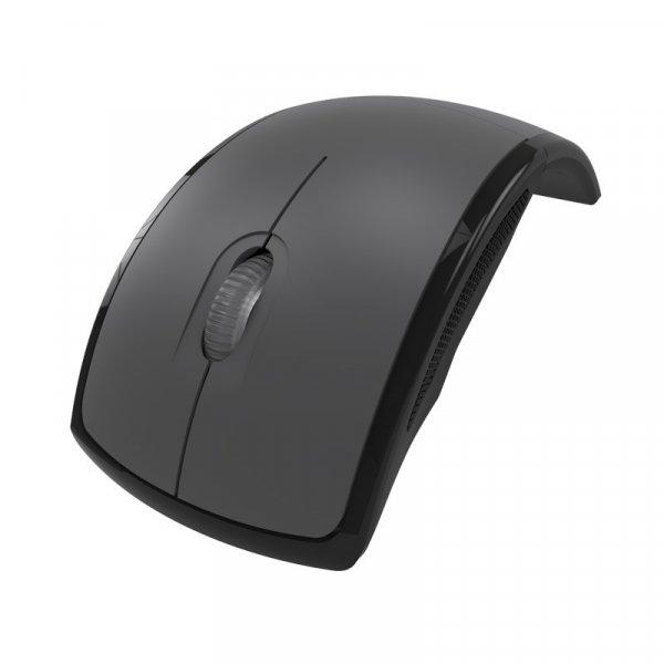Mouse KlipX Lightflex Gris Inalámbrico