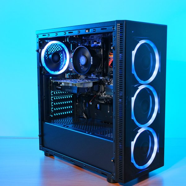 Spider Build Plus AMD Ryzen 5 2600 | GTX 1650 | 16 GB RAM...