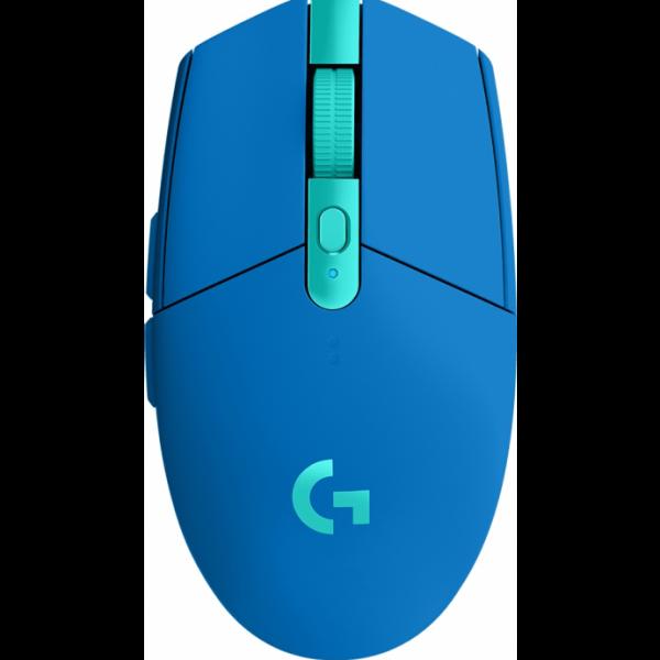 Mouse Logitech G305 Azul Inalámbrico 6 Botones 12000DPI