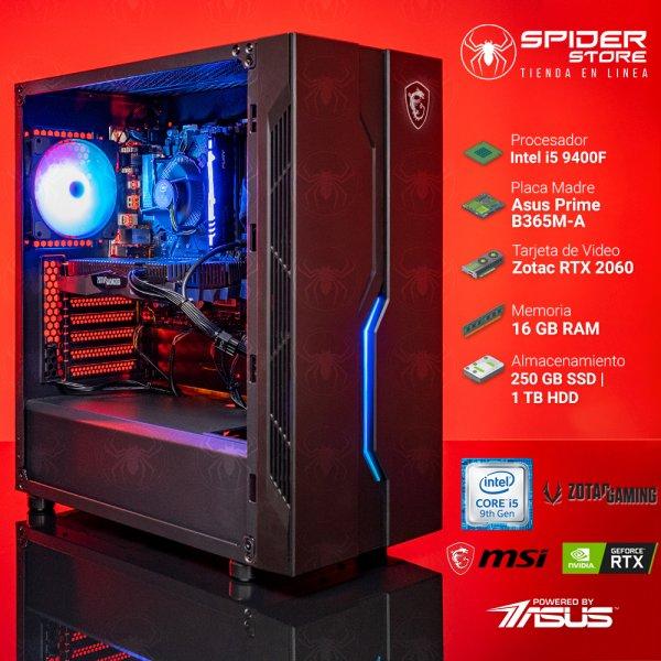 Spider Build Ultra Intel i5 9400F | RTX 2060 | 16 GB RAM...