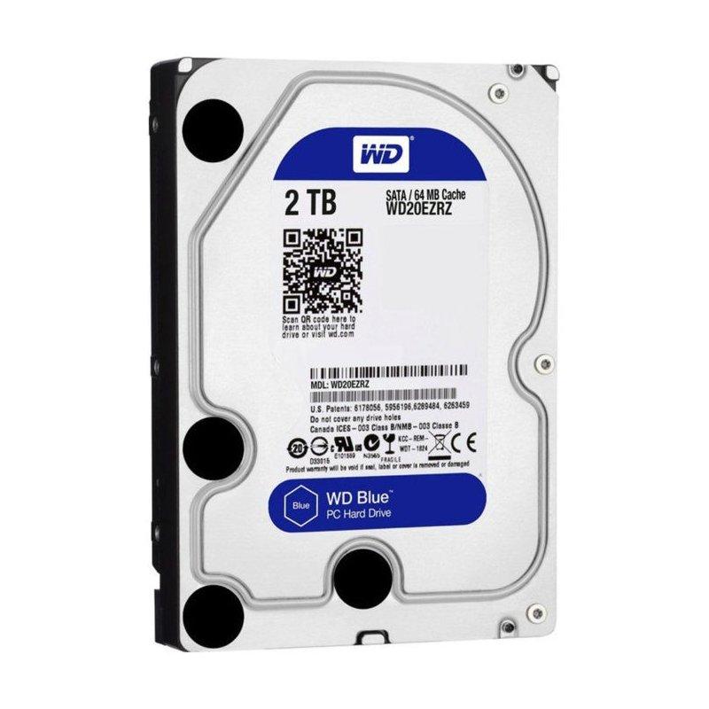 Disco Duro Western Digital 2TB Blue 64MB 3.5IN 5400RPM