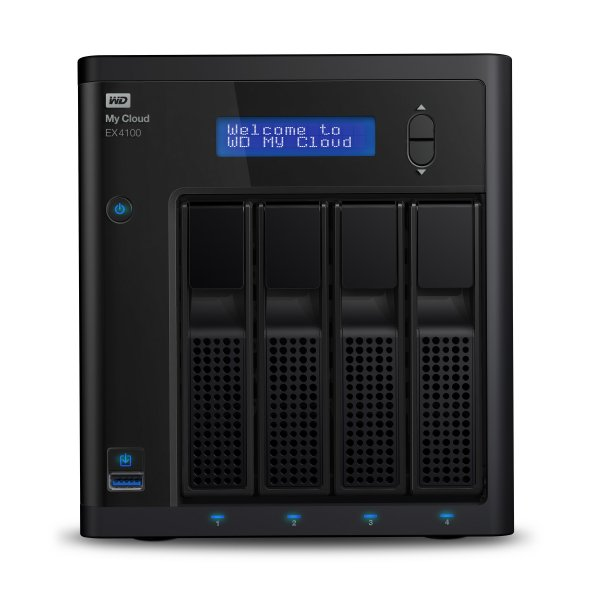 Western Digital Nas My Cloud  EX4100 0TB 4Bay Gigalanx x2