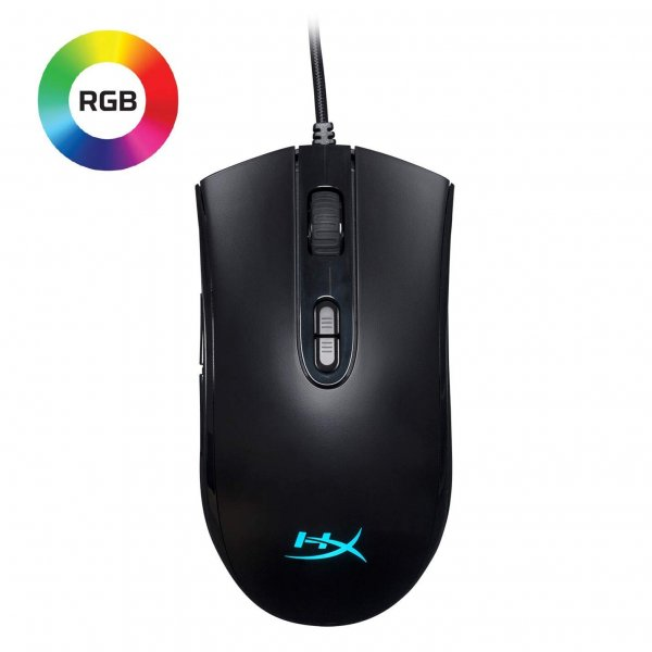 Mouse HyperX Gamer Nucleo Pulsefire RGB