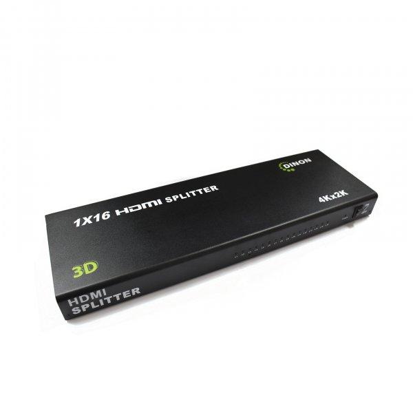 Splitter HDMI Amplificado 16 Salidas 3D 4K2K