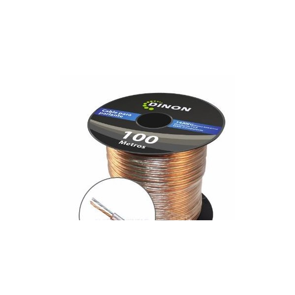 Rollo de Cable para Parlante 100M 14AWG CCA
