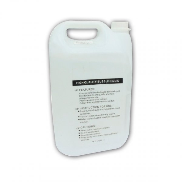 Liquido de Maquina para Hacer Burbujas Botella 5 L