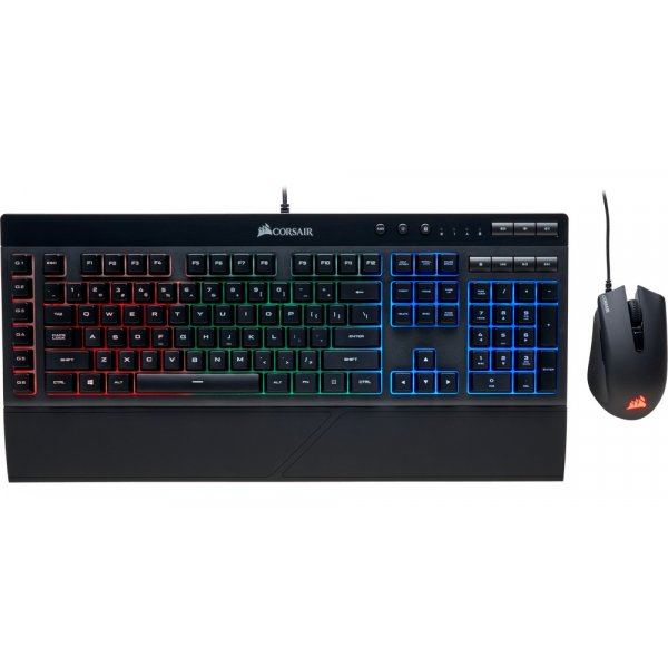 Kit Corsair Mouse Harpoon + Teclado K55