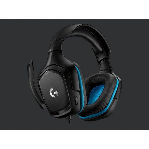 Audifonos Logitech G432 7.1 Gaming