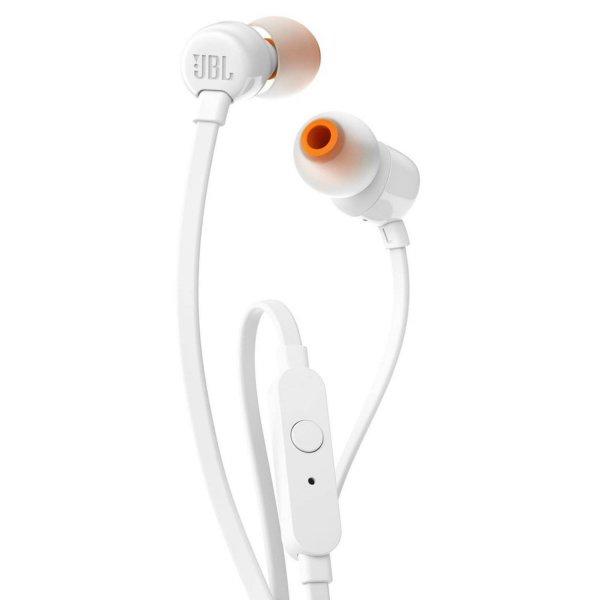 Audífonos JBL T110 MANOS LIBRES BLANCO