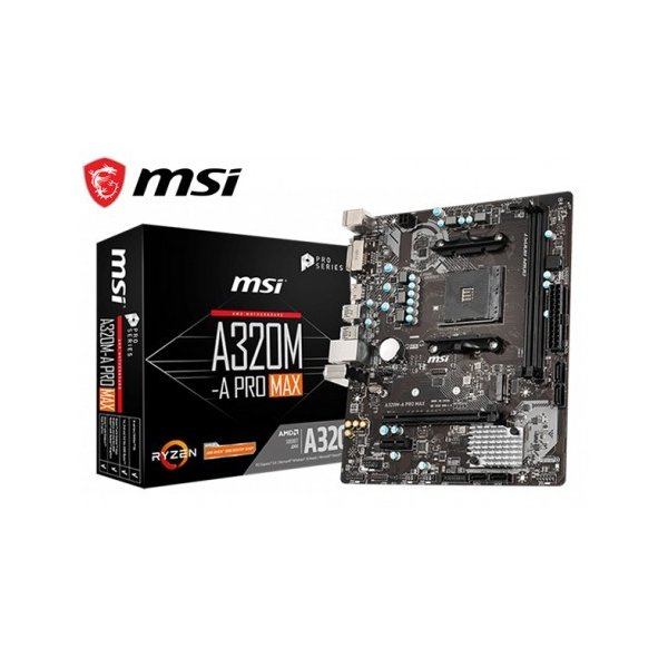 Placa Madre MSI A320M-A Pro Max Gen 1 Socket AM4