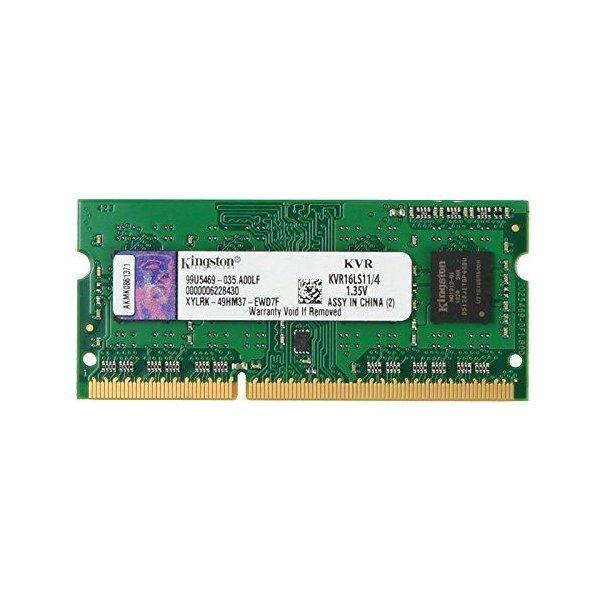 Memoria Ram Kingston 4GB DDR3L 1600MHZ SODIMM 1.35V
