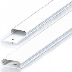 Canaleta Aluminio para Cable 1.0 mts ancho 3 cm