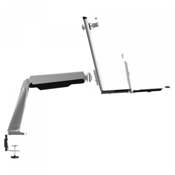 Soporte Ergonómico LCD mesa 1 Brazo 13-32 Giro 180º Vesa 100x100